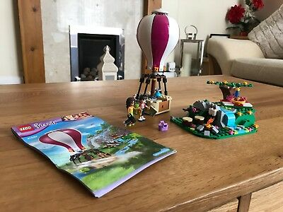 Lego Friends 41097 Hot Air Balloon 100% Complete Instructions No box