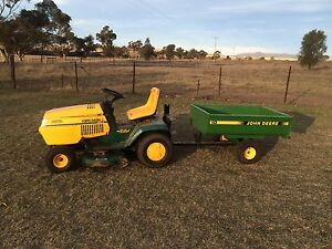 YARDMAN RIDE ON MOWER/TRAILER / WATER TROUGHS X 2 / GAS GUNS X 2 Broke Singleton Area Preview