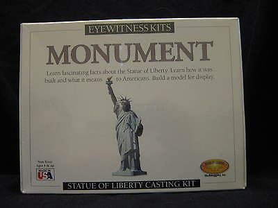 Skullduggery ~ Eyewitness Kit ~ Statue of Liberty Monument Casting Kit *New*