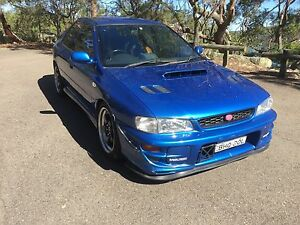 2000 Subaru WRX Sedan Sydney City Inner Sydney Preview