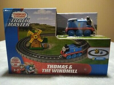Thomas And Friends Track Master Push Along⭐Thomas And The Windmill⭐Play Set ~NEW