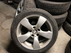 BMW Original Mags with winter tires 215 50 R17