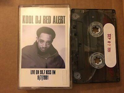 Kool DJ Red Alert 09/7/1991 Live on 98.7 Kiss FM NYC Cassette Mixtape Tape