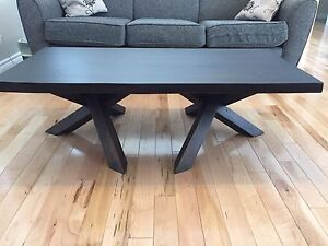 Gorgeous handcrafted live edge coffee table!