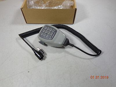 Kenwood Tk-5710 Vhf Radio Kmc-28 Round Plug Dtmf Back Lite Palm Mic Tk-790h Mint