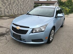 2011 Chevy Cruze only 145kms! Gas Saver, Must drive!