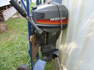 20 HP MARINER SHORT SHAFT 2 STROKE Woombye Maroochydore Area Preview