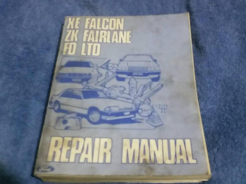 xe falcon zk fairlane fd ltd workshop repair manual other parts rh gumtree com au Ford Falcon Ef Ford Falcon EB