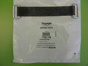 T2501740 TRIUMPH BATTERY STRAP BONNEVILLE DAYTONA SUPER iii ADVENTURER      #20