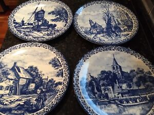 Delft Made in Holland Plates of the Season