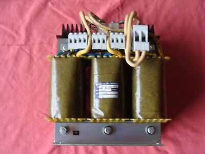 New Old Stock Electro Muller Sa Amp Line Reactor 3 Phase Transformer 8 X 4x 9
