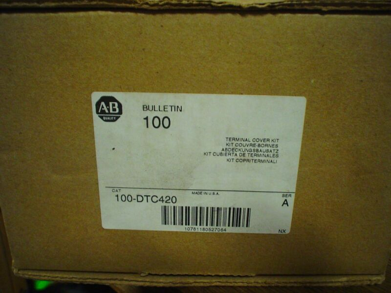 Allen Bradley 100-DTC420 Series A Terminal Cover Kit