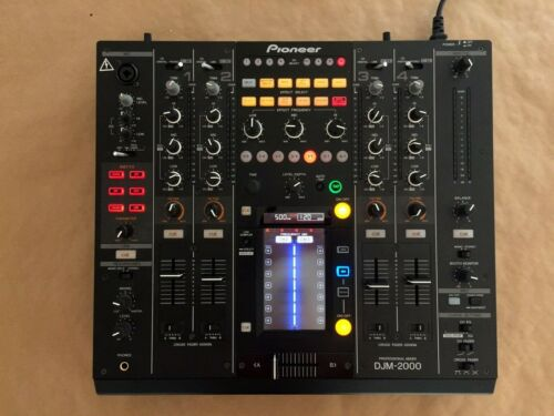 Pioneer DJM-2000 4-Channel DJ Mixer and Effects Controller