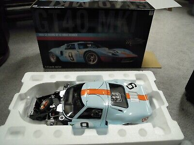 1968 #9 Gulf Ford GT-40 LeMans WInner, 1/12 Scale, ACME Masterpiece Collection