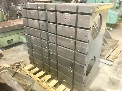 24x 48 T Slotted Angle Plates Matched Set2