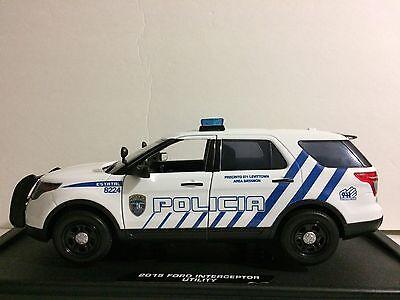 1/18 Puerto Rico Police Explorer Zebra . Water Slide Premium Paper. New !