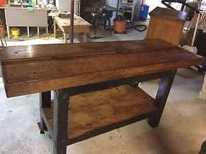 WORK BENCH  /  CARPENTERS BENCH  /  TABLE  /  BAR