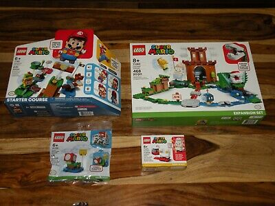 LEGO SUPER MARIO ADVENTURES BUNDLE ~ Starter Course 71360 + 71362 71370 30385