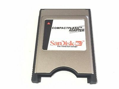 NEW SanDisk PCMCIA PC Card II Flash Disk ATA Memory CF LAPTOP PC BENZ