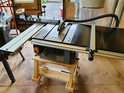 Draper Cast Iron Table saw kit and sliding table