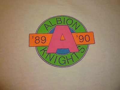 Albion Knights Vintage Shirt ( Used Size XL ) Very Good Condition!!!