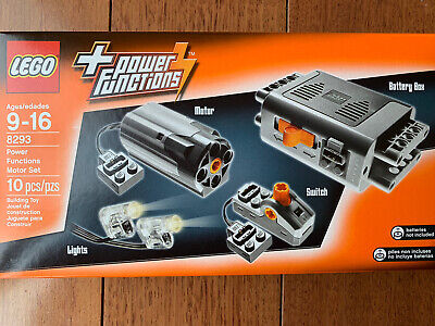 Brand New LEGO 8293 Technic Power Functions Motor Set factory sealed