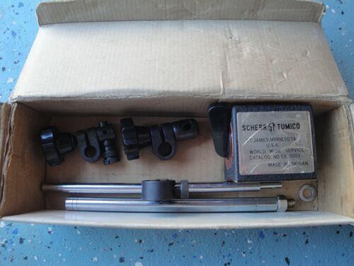 SCHERR TUMICO MAGNETIC BASE INDICATOR STAND machinist