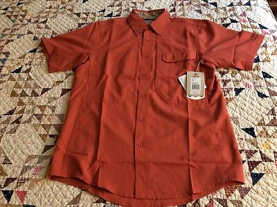 Expedition S/s Shirt (New Royal Robbins Sz.S Vented S/S Expedition Light Concealed Carry Shirt (TG4)