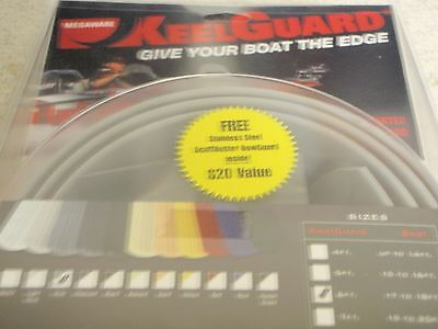 KEELGUARD KEEL PROTECTOR 254-20506 GREY 6FT BOAT SIZE 17FT TO 18FT HULL BOAT