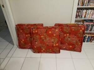 CUSHIONS - large outdoor cushions - 60cm x 60xm - $10 each = $30