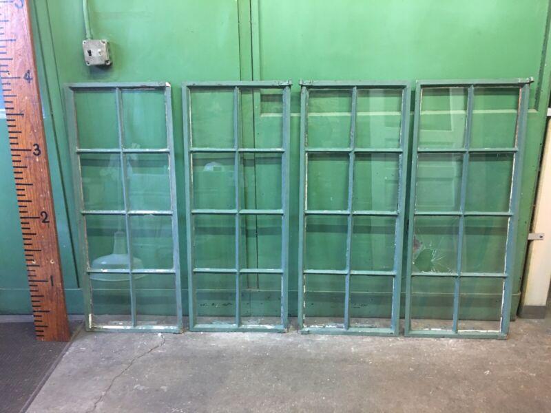 50 Beautiful Steel Industrial Casement Factory Window Heavy Glass 8 Lite