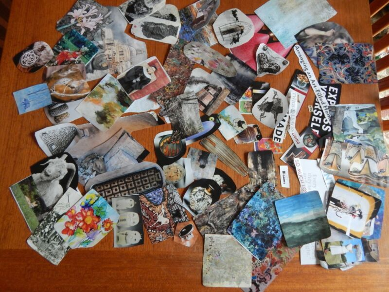 Magazine Cut Outs and Clippings art/collage/scrapbooking 50 Pieces+