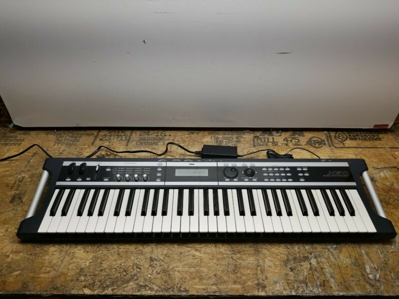 Korg X50 61-Key Music Synthesizer Keyboard Tested Working See Description