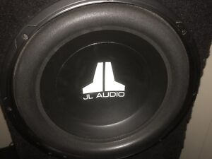 """two JL Audio 15"""" subs in ported box"""