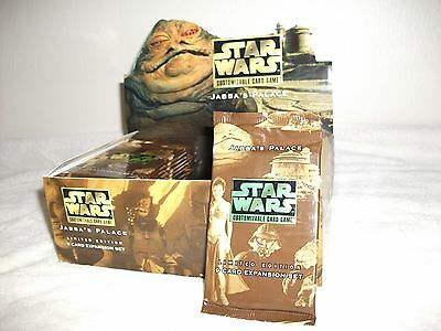 Star Wars CCG Factory Sealed Booster Jabba's Palace Limited