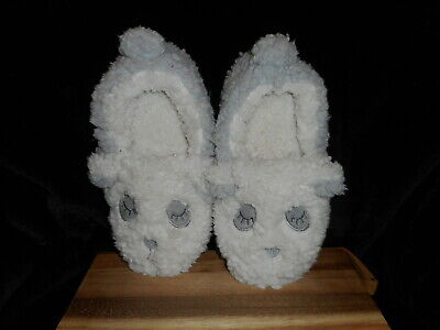 LEMON LEGWEAR PANDA BEAR FUZZY BEDROOM SLIPPERS WOMEN'S SIZE M-L 7-8 NEW Panda Bear Slippers