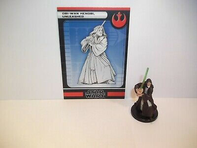 Star Wars Miniatures - Obi-Wan Kenobi, Unleashed 18/60 - Rare - Force Unleashed