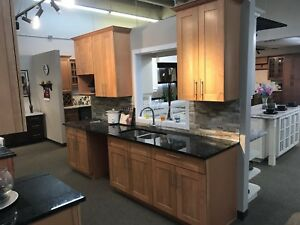 Solid wood cabinets final sale $1800 NOT incl. counter