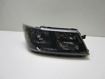 2009-2018 DODGE JOURNEY HEADLIGHT PASSENGER HALOGEN HALO 09-18 OEM BLACK BEZEL