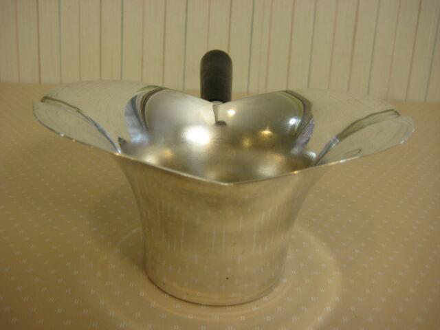 "Vintage F.B. Rogers Silver Co Silver Plate #856 Gravy Server, 6"" X 4"" X 3"" High"