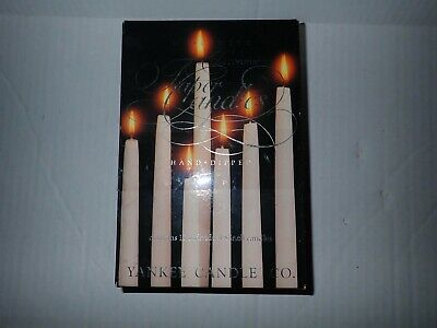 Hand Dipped Candles by Yankee Candle New Box Set tapers 8 inch Red