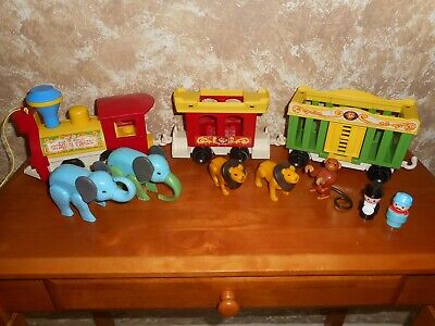 Fisher Price Vintage 1970's Little People Circus Train
