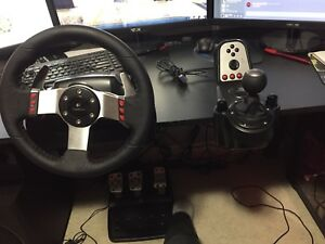 Logitech g27 racing wheel combo
