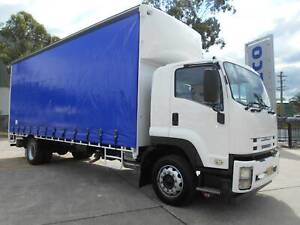 2012 ISUZU FTR 900 LONG PREMIUM 12 PALLET CURTAINSIDER Arndell Park Blacktown Area Preview