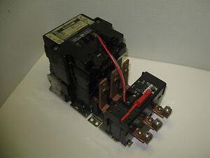 Square d nema size 3 starter with motor logic overload for Square d motor logic