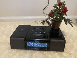 iHome Model iH9 Pink Alarm Clock Speaker System With Dock For iPod vintage