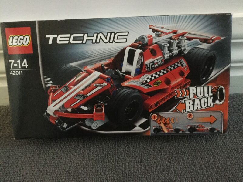 Lego Technic Race Car Set 42011 2013 Complete New In Box Toys