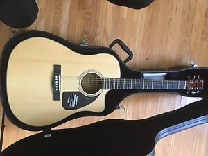 Fender Acoustic Guitar with Hardshell Case.