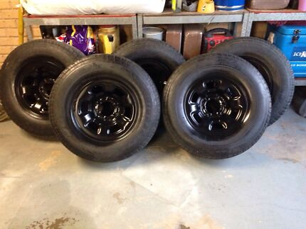 """GU rims and tyres x5.  16"""" Kempsey Kempsey Area Preview"""