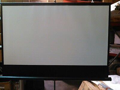 Quartet Wide Format Tripod Base Projection Screen 45 X 80 White 85567